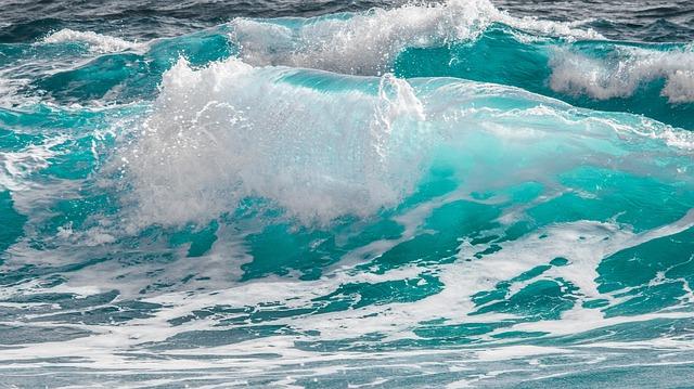 Vlny v moři