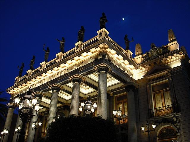 Historická budova divadla